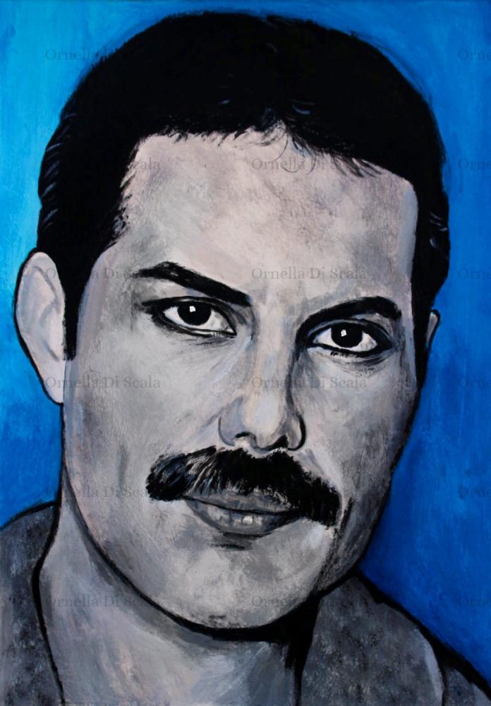 Freddie Mercury by velvetdressx